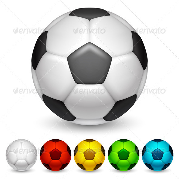 GraphicRiver Soccer Balls 7113590