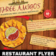 Mexican Restaurant Ad Flyer Template - GraphicRiver Item for Sale