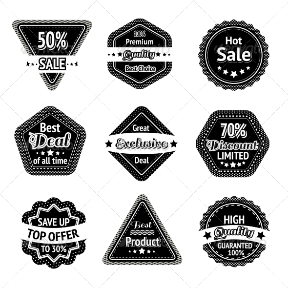 GraphicRiver Sale Tags 7117655