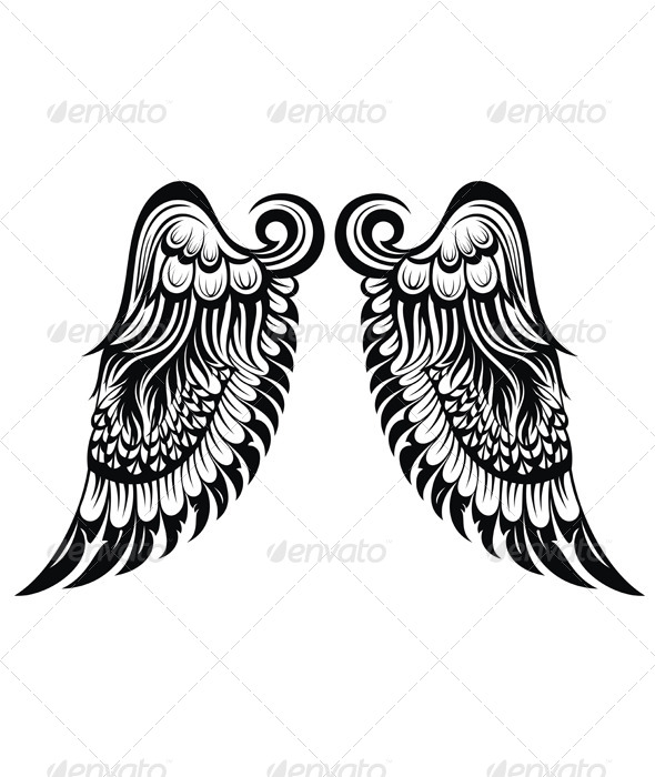 GraphicRiver Angel Wings 7118631