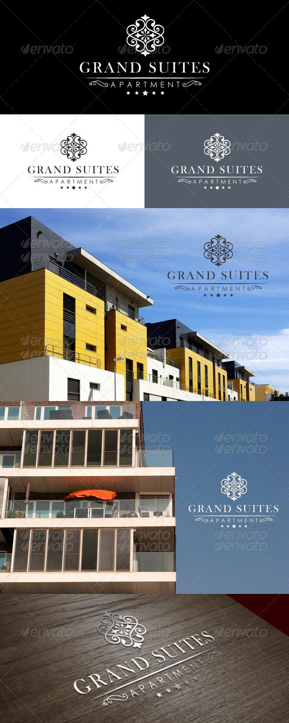 GraphicRiver Grand Suites Logo 7031422