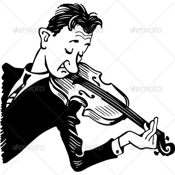 GraphicRiver Violinist 7120576