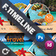 Travel Tours Face Timeline Templates - GraphicRiver Item for Sale