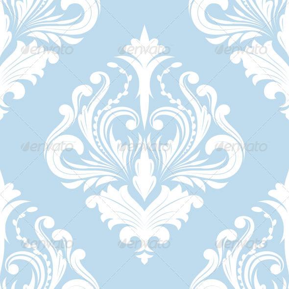 GraphicRiver Pattern Blue Classic 7121405