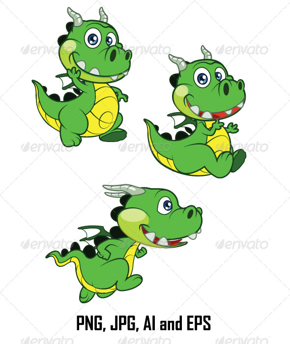 GraphicRiver Dragon Baby 7122436