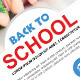 Back To School Flyer/Poster - GraphicRiver Item for Sale