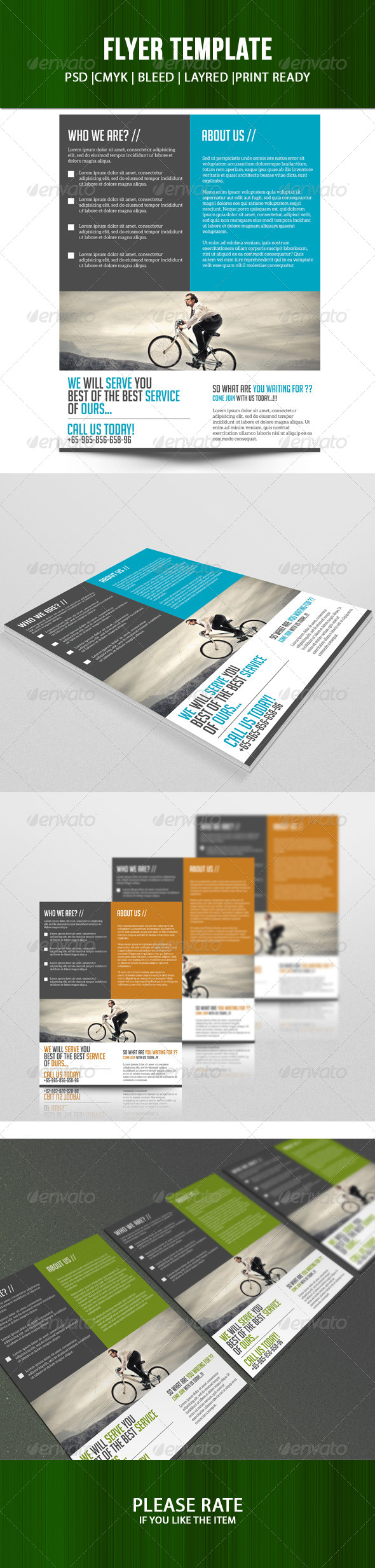 GraphicRiver Business Flyer Template 7125304