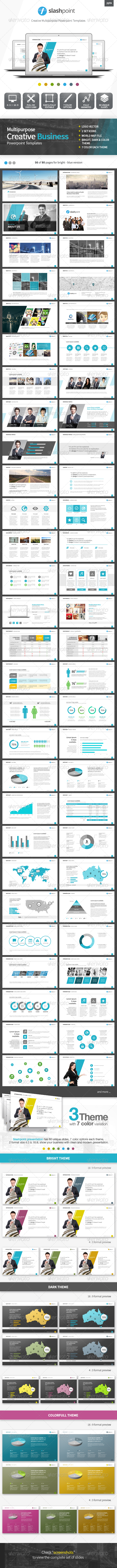 GraphicRiver Slashpoint Creative Business powerpoint template 7126824
