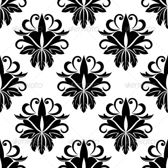 GraphicRiver Floral Seamless Pattern 7127213