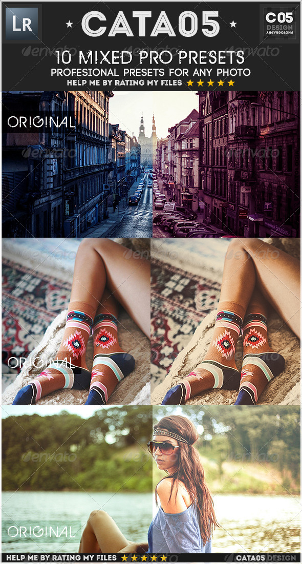GraphicRiver 10 Mixed Pro Presets 7114197