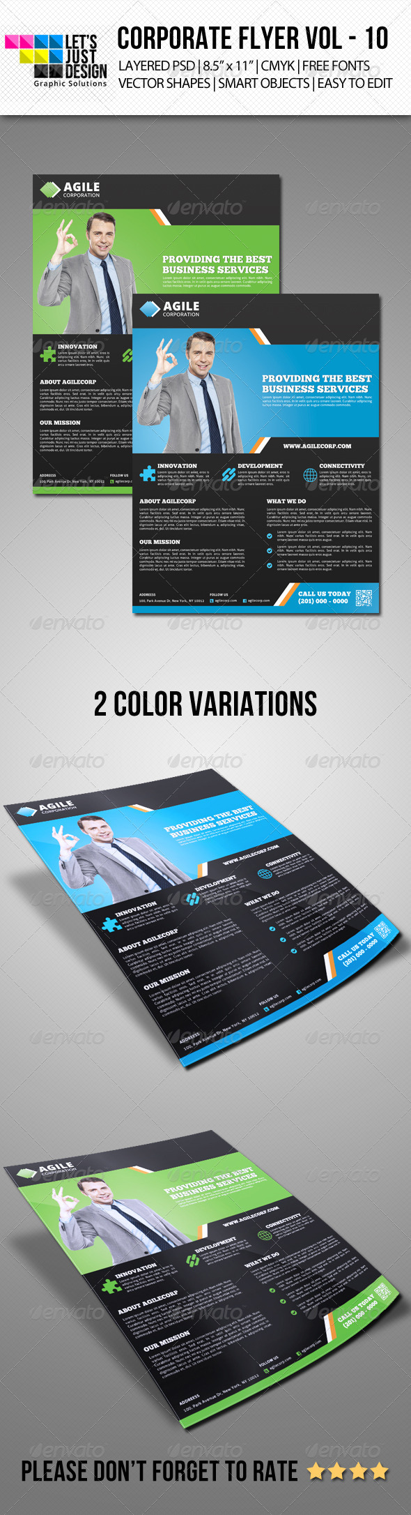 GraphicRiver Corporate Flyer Template Vol 10 7127995