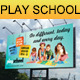 Play School / Education Outdoor Billboard - GraphicRiver Item for Sale