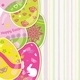 Easter Background with Paper Eggs - GraphicRiver Item for Sale