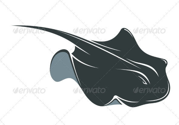 GraphicRiver Swimming Manta Ray 7132499