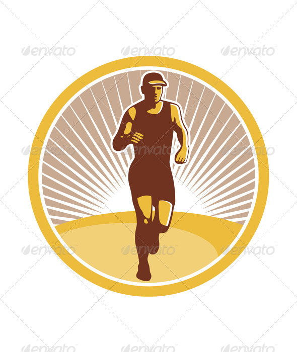 GraphicRiver Marathon Runner 7133262