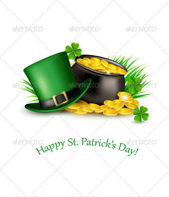 GraphicRiver Saint Patricks Day Background 7133346