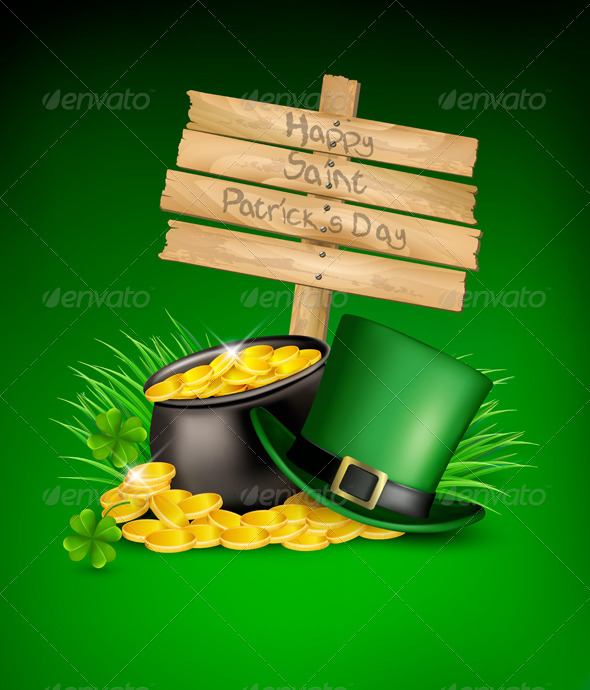GraphicRiver Saint Patricks Day Background 7133348