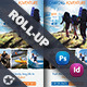Camping Adventure Roll-Up Templates - GraphicRiver Item for Sale