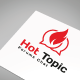 Hot Topic Logo Template - GraphicRiver Item for Sale