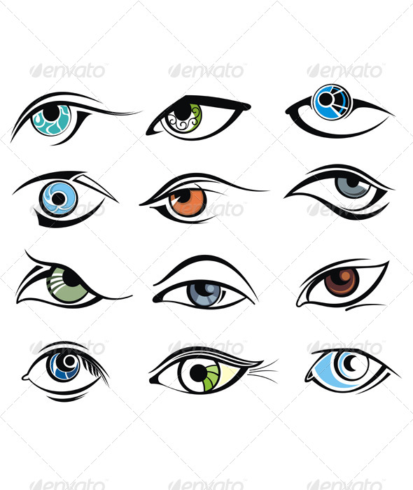 GraphicRiver Eye Designs 7136143