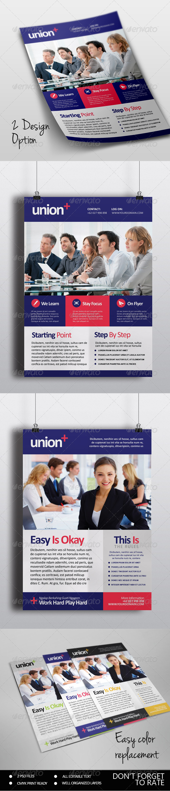 GraphicRiver Union Multipurpose Flyer Template 7137529