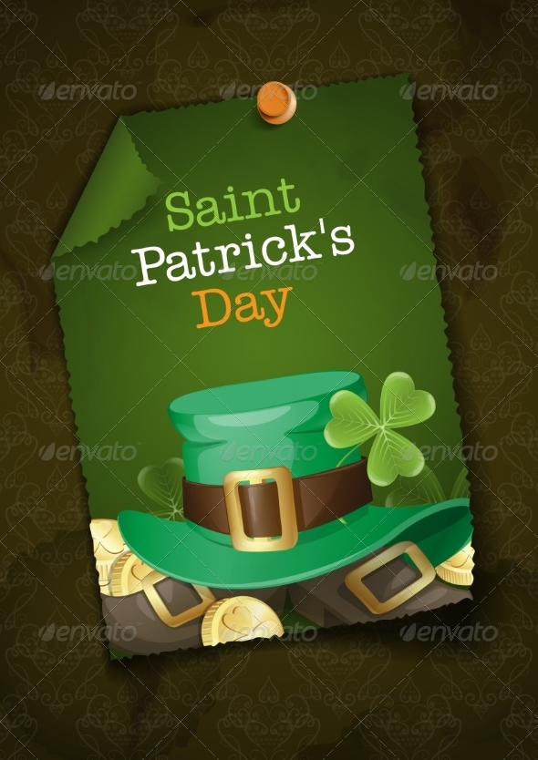 GraphicRiver St Patrick s Day Background 7138235