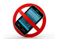 3d illustration of No cell phone sign - PhotoDune Item for Sale