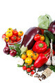 Fresh vegetables on a white background. - PhotoDune Item for Sale