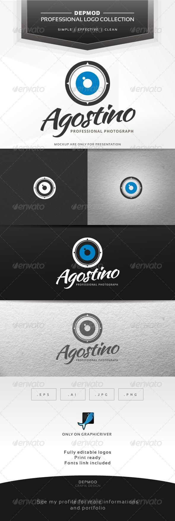 GraphicRiver Agostino Logo 7139398