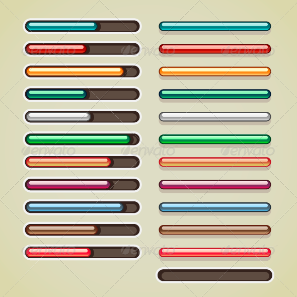 GraphicRiver Colorful Bars for Games 7139495