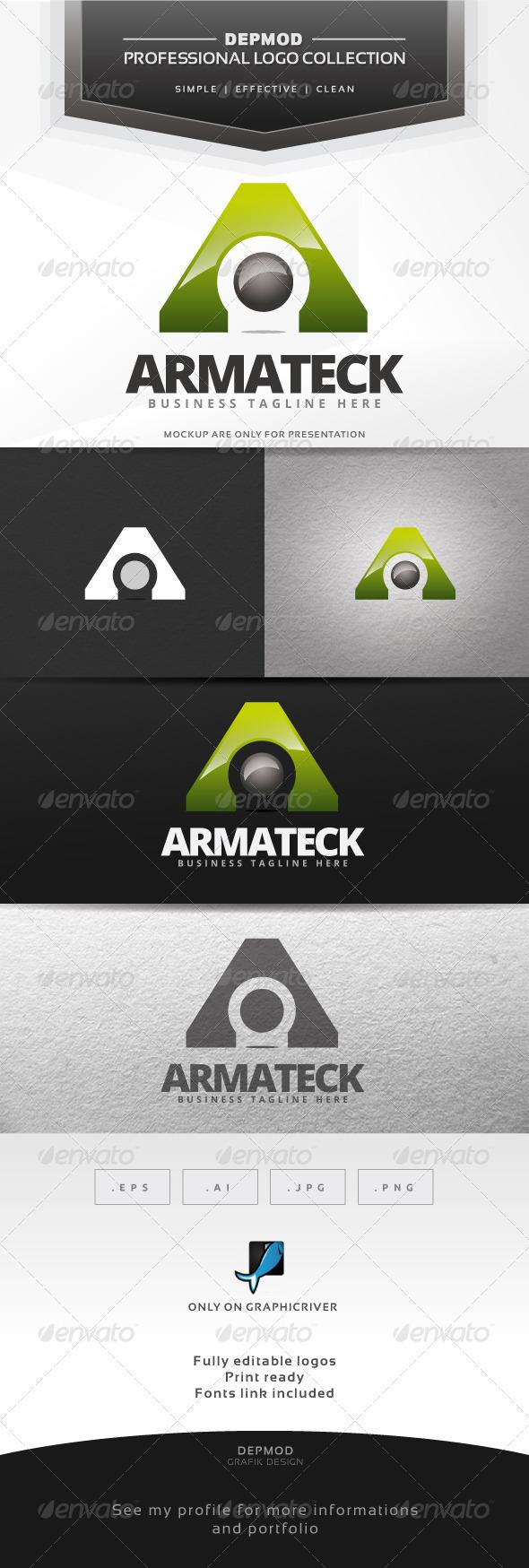 GraphicRiver Armateck Logo 7140649
