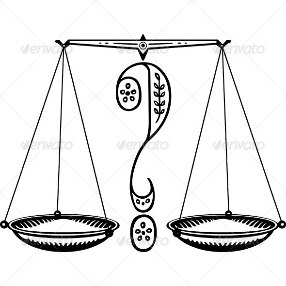 GraphicRiver Question Weighing Scales 7141238