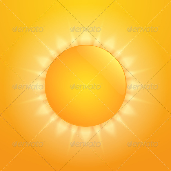 GraphicRiver Hot Sun 7141321