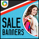 Online Shopping Discount Banners - GraphicRiver Item for Sale