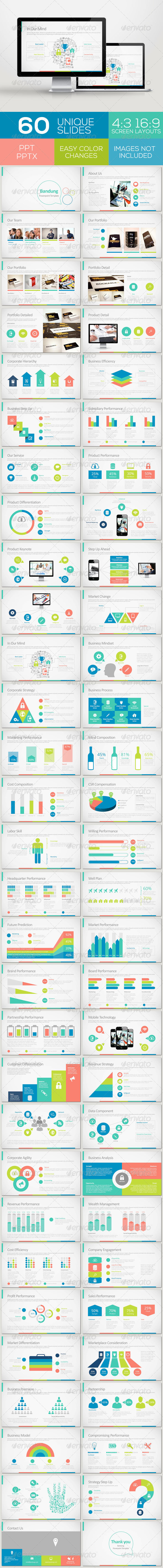 GraphicRiver Bandung Powerpoint Template 7141558