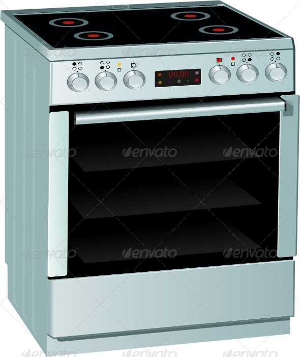 GraphicRiver Electric Stove 7141675