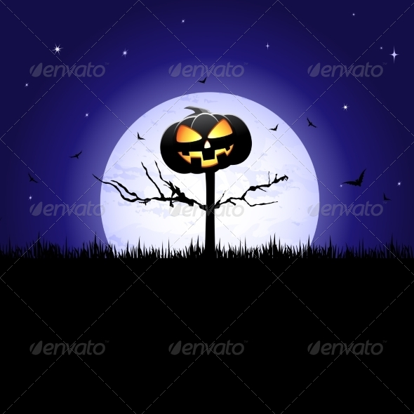 GraphicRiver Halloween Pumpkin 7142830