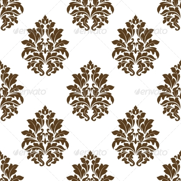 GraphicRiver Damask Style Arabesque Pattern 7143217