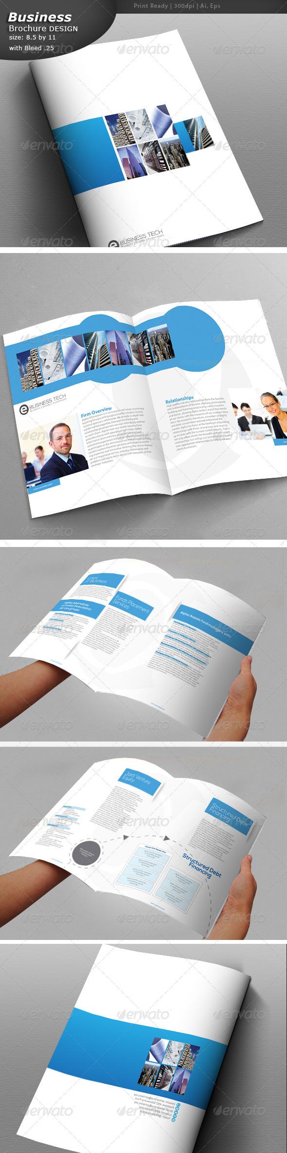 GraphicRiver A4 Corporate Brochure 7143329