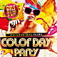 Color Day Party Flyer - GraphicRiver Item for Sale