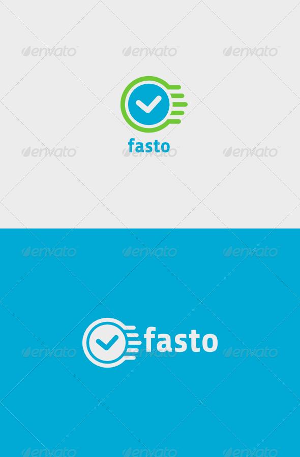 GraphicRiver Check Fasto Logo 7143496
