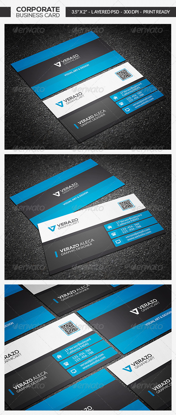 GraphicRiver Corporate Business Card 07 7143814