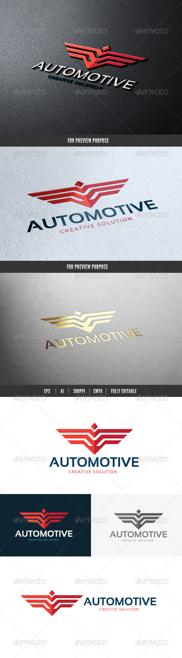 GraphicRiver Automotive Creative Solution Logo 7144644