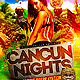 Cancun Spring Break Flyer Template PSD - GraphicRiver Item for Sale