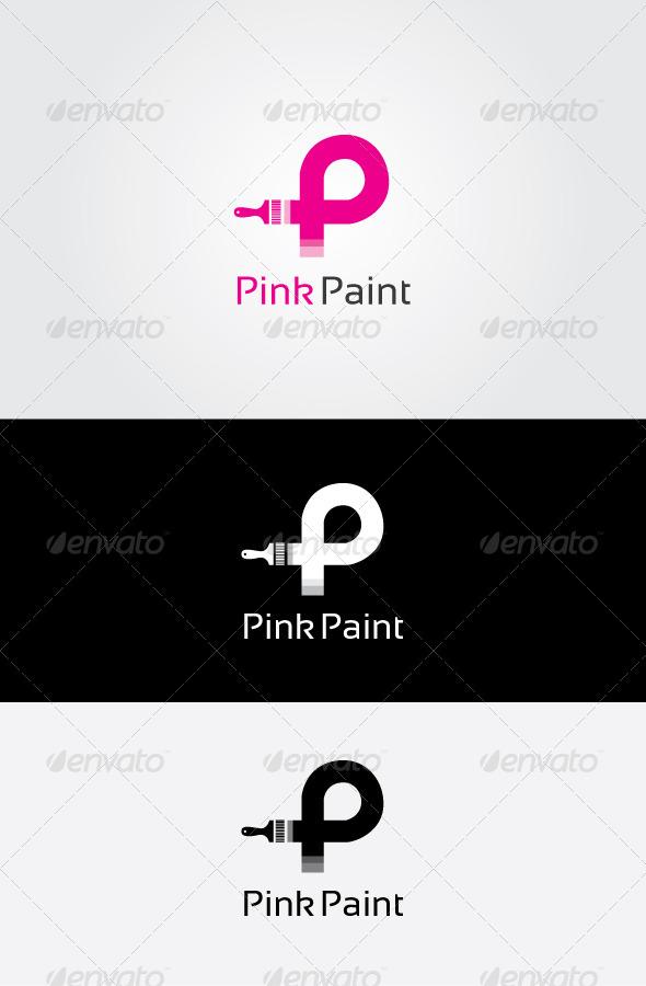 GraphicRiver P Letter Logo 7145780