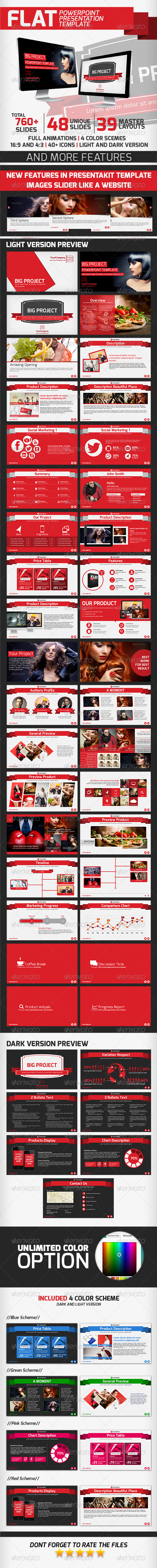 GraphicRiver Flat Presentation Template 7095249