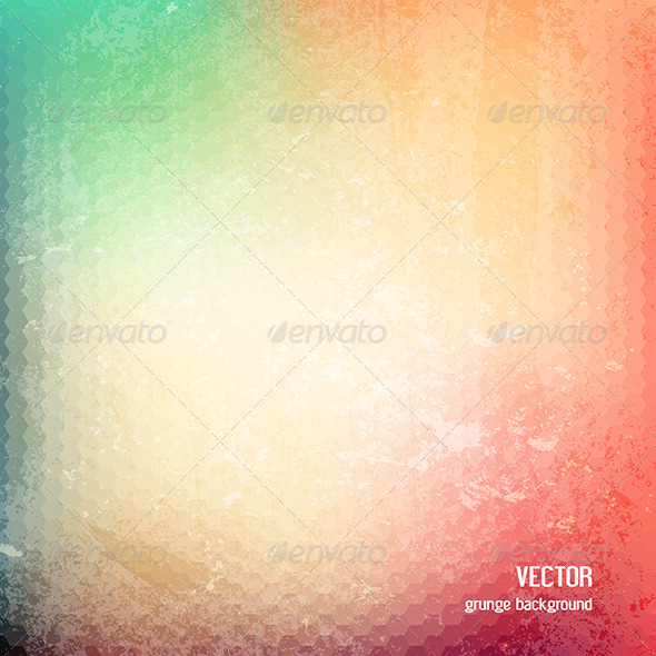GraphicRiver Grunge Geometric Patterned Background 7147523