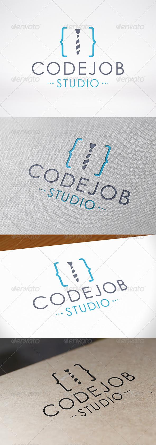 GraphicRiver Code Job Logo 7149119