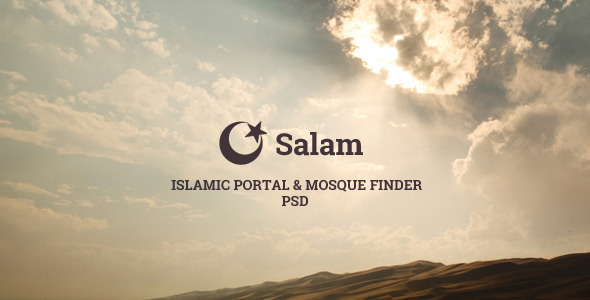 ThemeForest Salam Islamic Portal & Mosque Finder 7149501