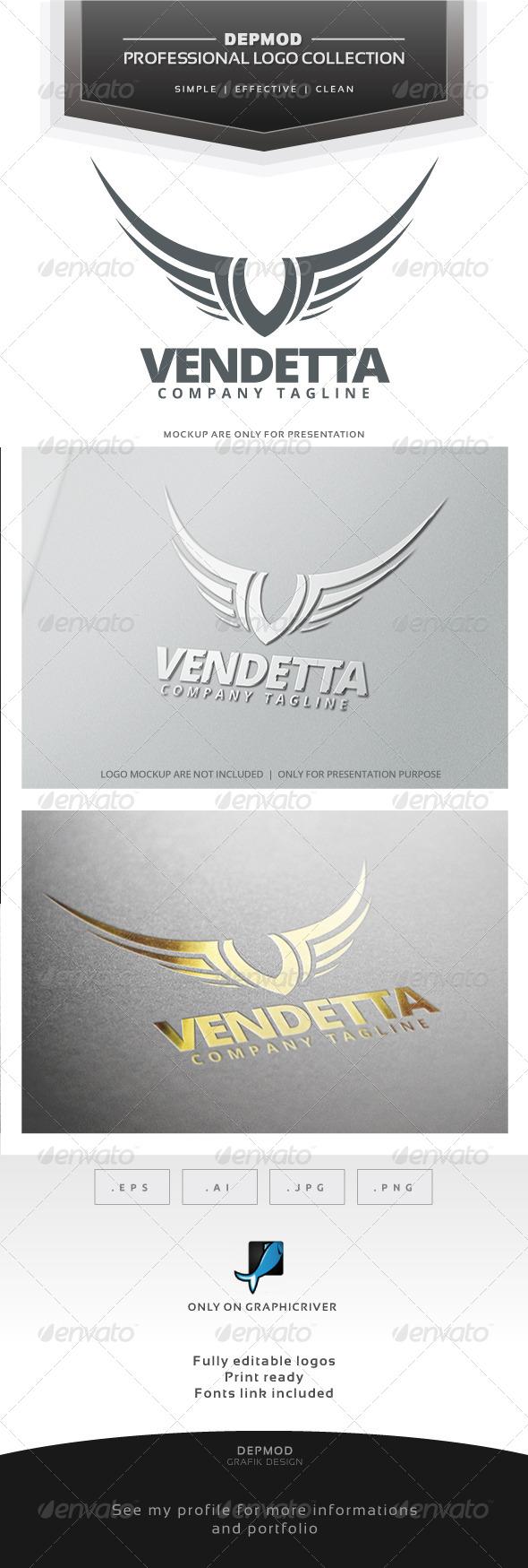 GraphicRiver Vendetta Logo 7149685